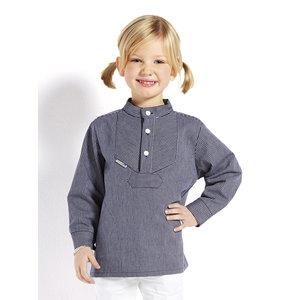 Modas Kinder-vissershemd in smalle strepen