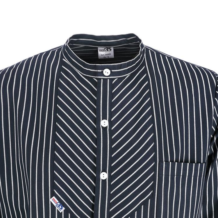 Modas Vissershemd 'BasicLine' in brede strepen