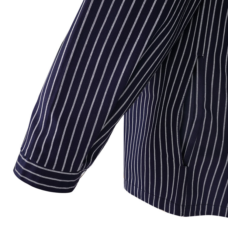 Modas Takelhemd met knoopsluiting, 2 streepdessins