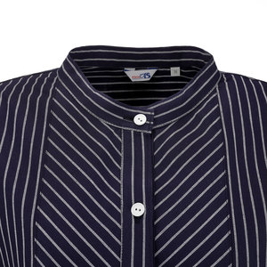 Modas Dames Vissershemd met smalle strepen