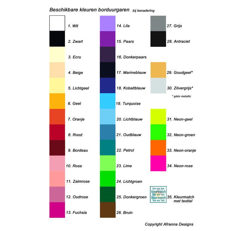 Schippersmuts gepersonaliseerd Acryl 5 kleuren