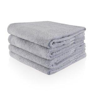 Funnies  Handdoek grijs met geborduurde naam of tekst