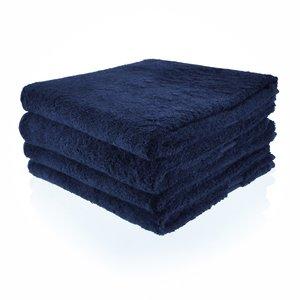Funnies Handdoek donkerblauw met naam of tekst