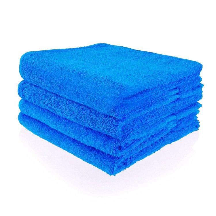 Funnies  Handdoek kobaltblauw met geborduurde naam of tekst