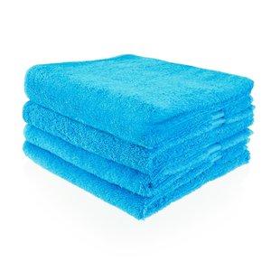 Funnies Handdoek turquoise met naam of tekst