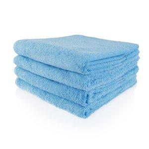 Funnies Bad- of saunalaken blauw met geborduurde naam of tekst