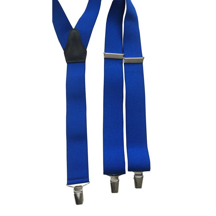 Bretels elastiek Kobaltblauw 35mm breed