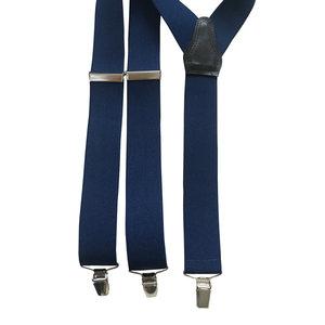 Bretels elastiek Donkerblauw 35mm breed