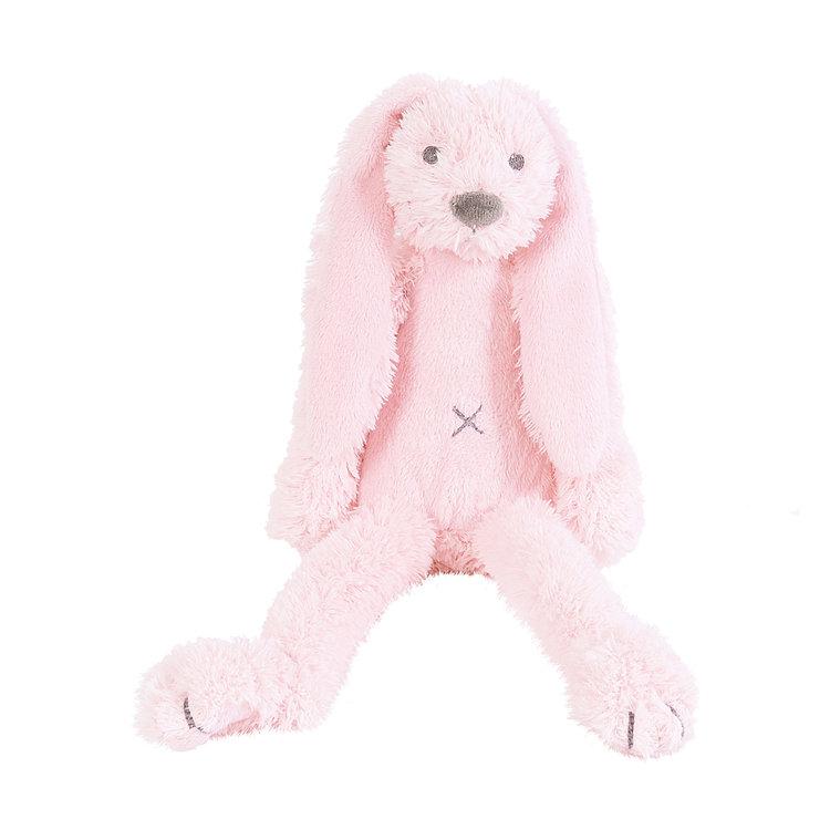 Happy Horse Rabbit Richie Tiny Roze met geborduurde naam