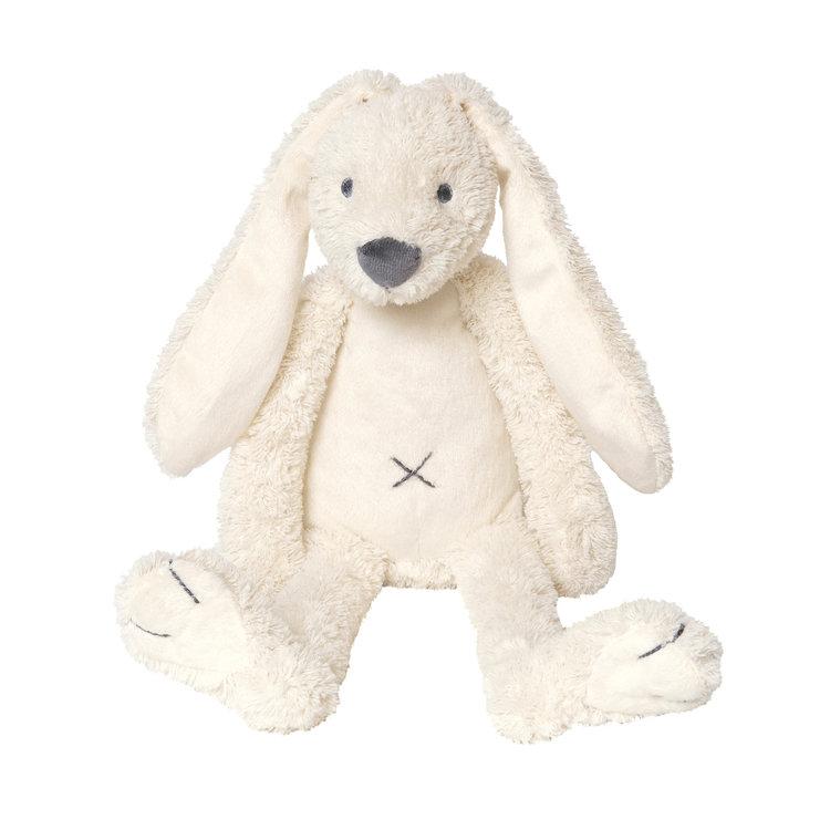 Happy Horse Rabbit Richie Tiny Wit met geborduurde naam
