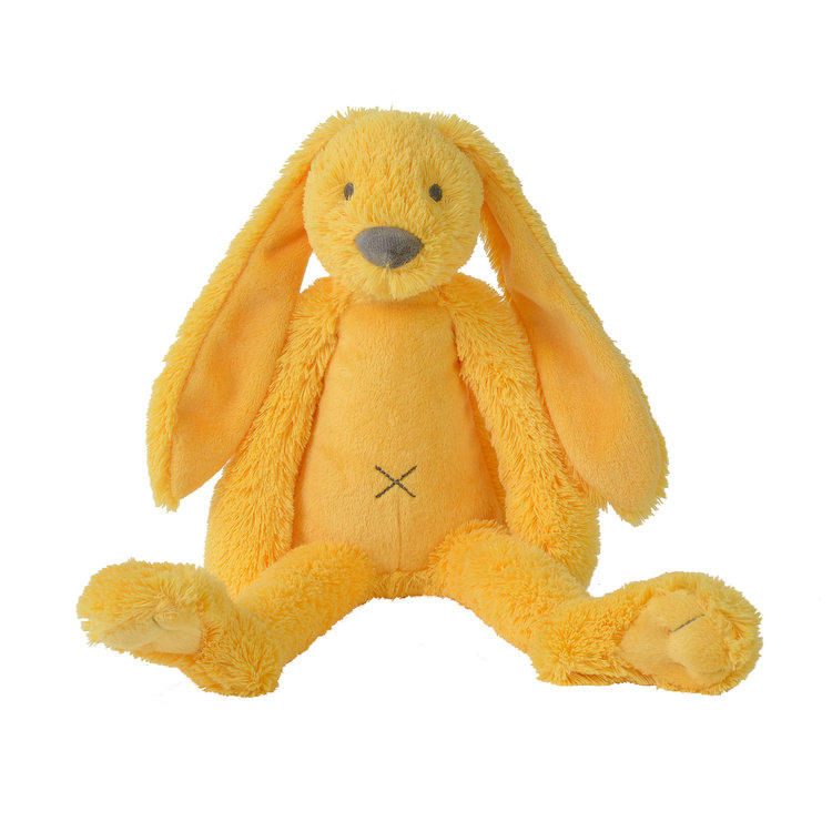 Happy Horse Rabbit Richie Original Geel met geborduurde naam