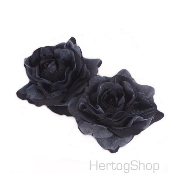 Corsage bloem, donkerblauw