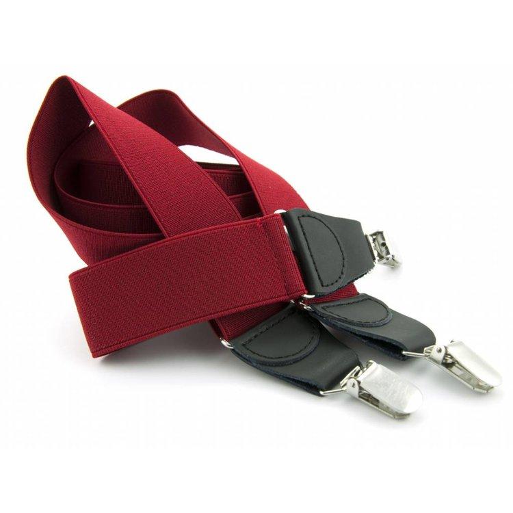Bretels elastiek 35mm Warmrood