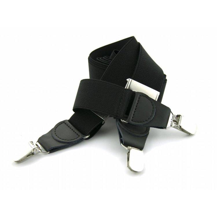 Bretels elastiek 35mm Zwart