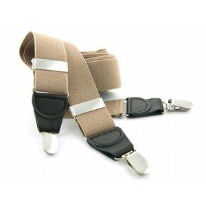 Bretels elastiek 35mm Khaki