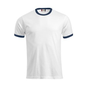 T-shirt met contrast