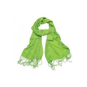 Pashmina sjaal Viscose - Lichtgroen