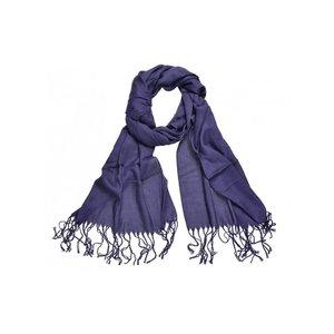 Pashmina sjaal Viscose - Donkerblauw