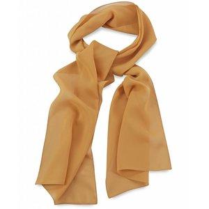 Polyester sjaal Oker 30x140cm