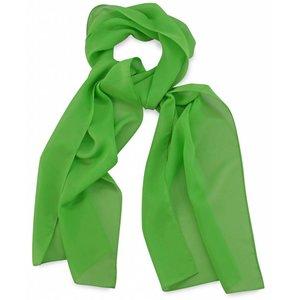 Polyester sjaal Appelgroen 30x140cm