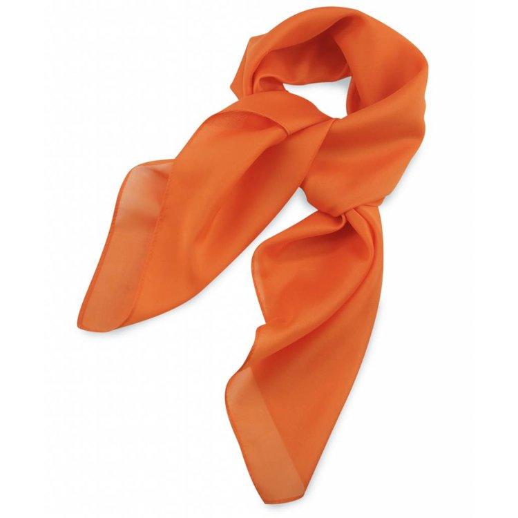 Polyester sjaal Oranje 75x75cm