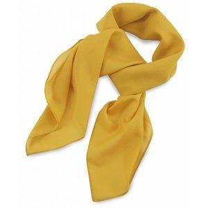 Polyester sjaal Geel 75x75cm