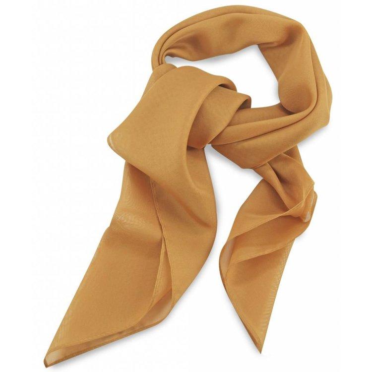 Polyester sjaal Oker 75x75cm