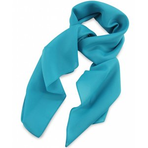 Polyester sjaal Turquoise 75x75cm