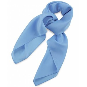 Polyester sjaal Lichtblauw 75x75cm