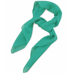 Polyester sjaal Mintgroen 75x75cm