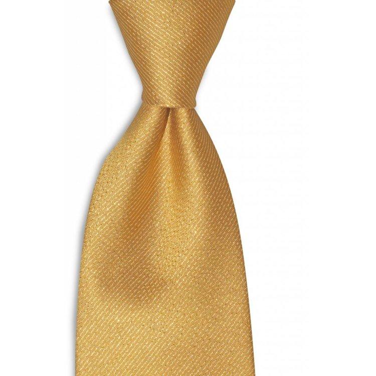 Polyester stropdas  Premium Goud