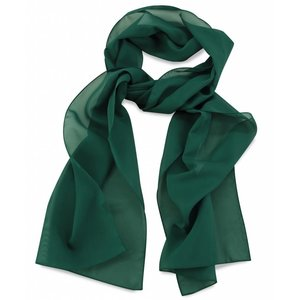 Polyester sjaal Groen 30x140cm