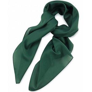 Polyester sjaal Groen 75x75cm