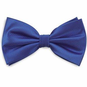 Polyester strik repp Kobaltblauw