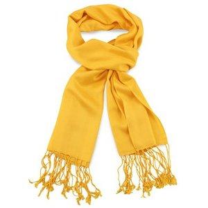 Pashmina sjaal Premium - Kleur Geel