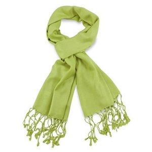 Pashmina sjaal Premium - Kleur Limegroen