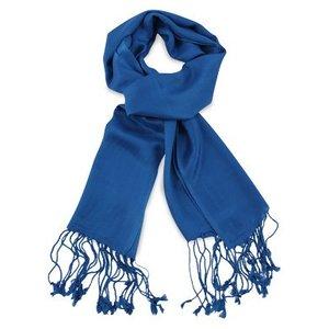 Pashmina sjaal Premium - Kleur Kobaltblauw