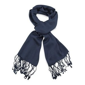 Pashmina sjaal Premium - Kleur Marineblauw