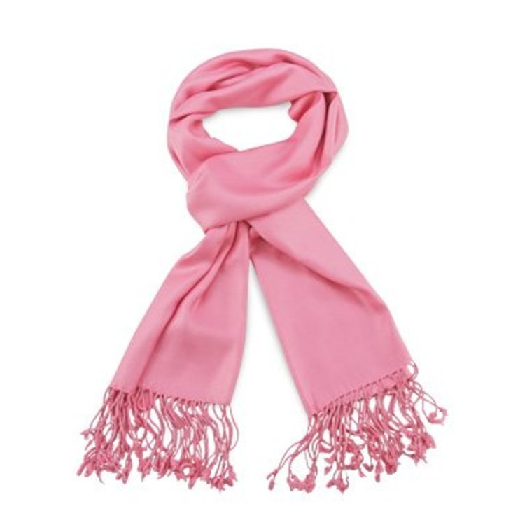 Pashmina sjaal Premium - Kleur Roze