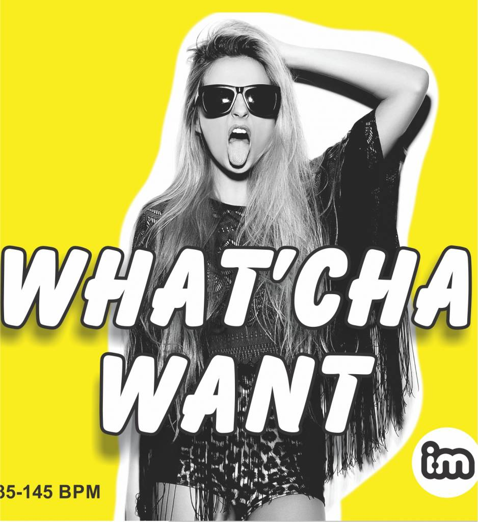 Interactive Music #04 WHAT'CHA WANT - CD