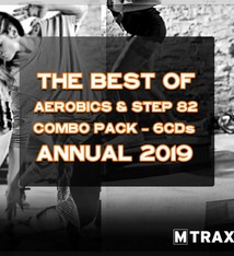 multitrax Aerobics & Step 82 Best of - Annual 2019 Combo Pack (6CDs)