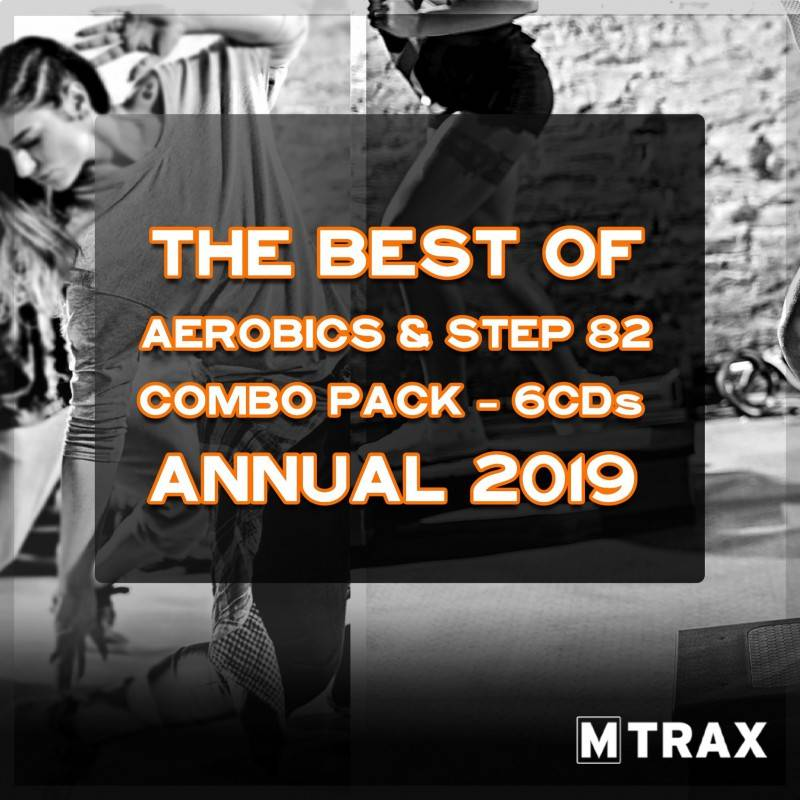 Aerobics & Step 82 Best of - Annual 2019 Combo Pack (6CDs)
