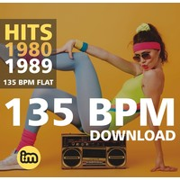 HITS 1980-1989 - 135 BPM - MP3