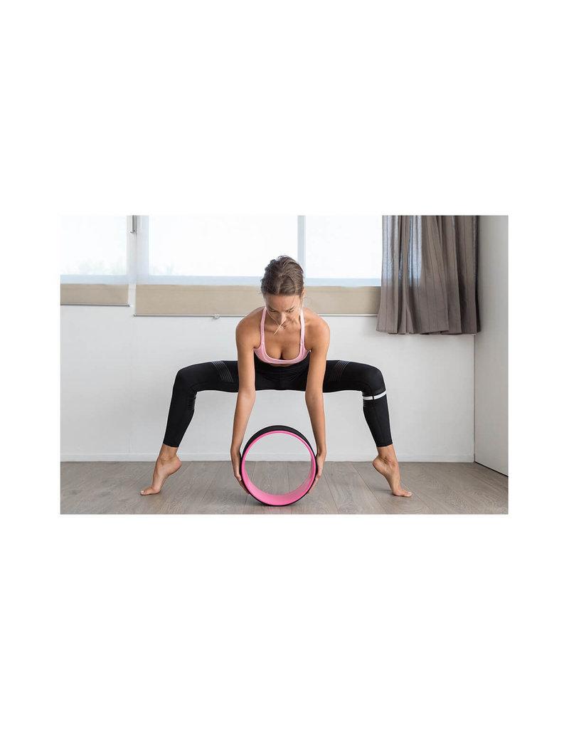 Sveltus Sveltus Yoga wheel pink 33 cm