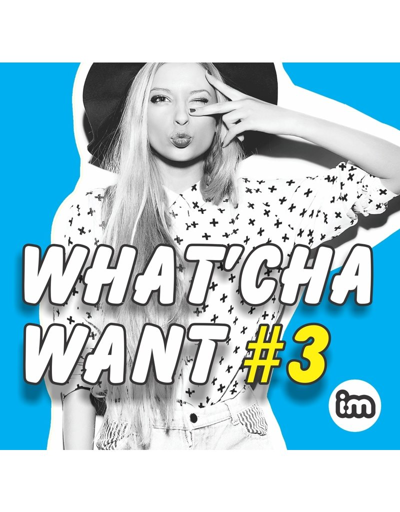 Interactive Music WHAT'CHA WANT vol 3 - CD