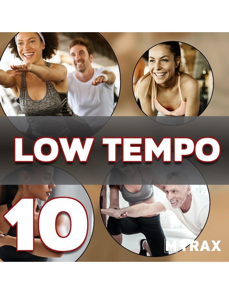 multitrax LOW TEMPO 10 - CD