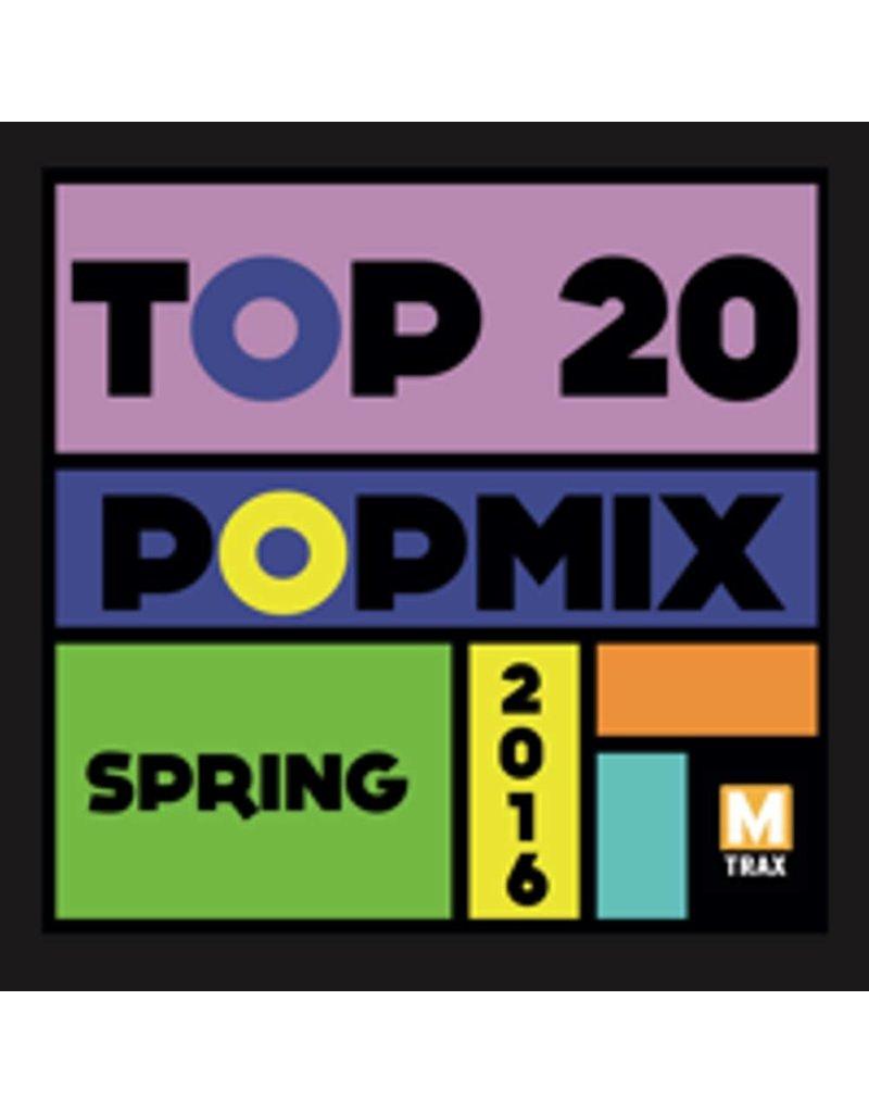 multitrax Top 20 Popmix Spring 2016