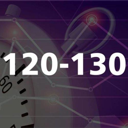 120 - 130