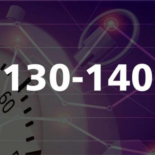 130 - 140