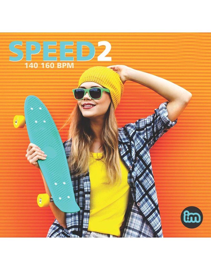 """Interactive Music SPEED 2 - 140-160 BPM pour des cours """"high impact"""